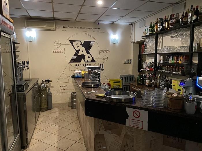 Caffe bar X in Zagreb, Croatia